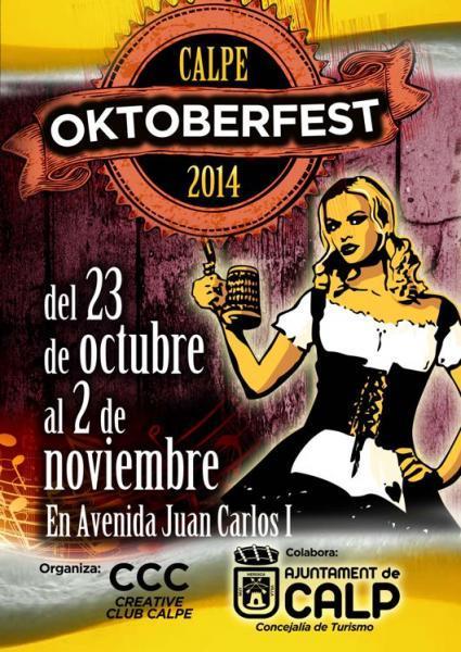 Oktoberfest 2014 en Calpe