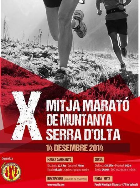 X Mitja Marató de Muntanya Serra d'Oltá