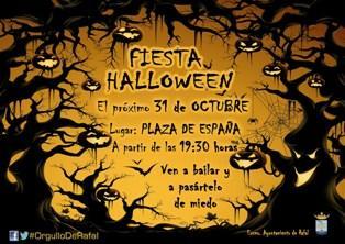 Fiesta Halloween en Rafal 2014