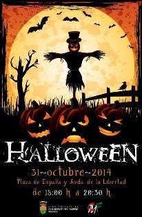 Fiesta de Halloween en Sant Vicent del Raspeig 2014