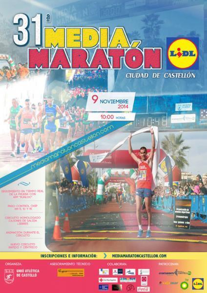"""XXXI """"Mitja Marató Ciutat de Castelló"""" 2014"""