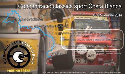 I Concentración Classics sport Costa Blanca