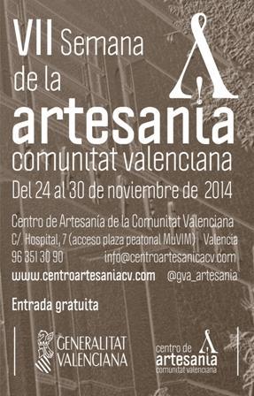 VII Semana de la Artesanía de la Comunitat Valenciana