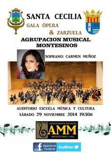 Gala de Ópera de Santa Cecilia en Los Montesinos 2014