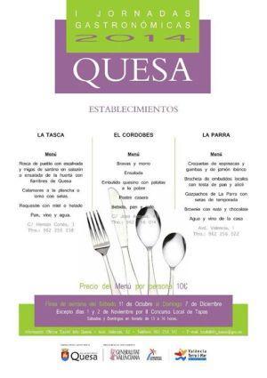 Jornadas Gastronómicas en Quesa
