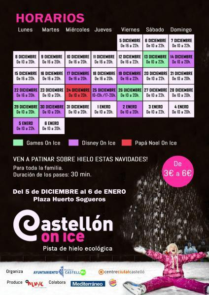 Castellón on ice