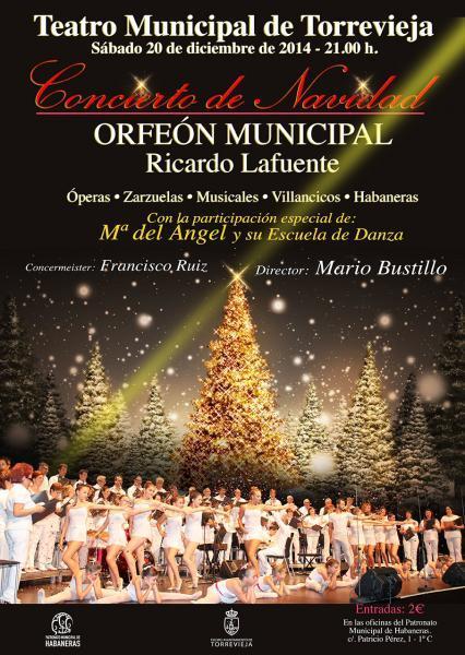 Conciertos de Navidad en Torrevieja