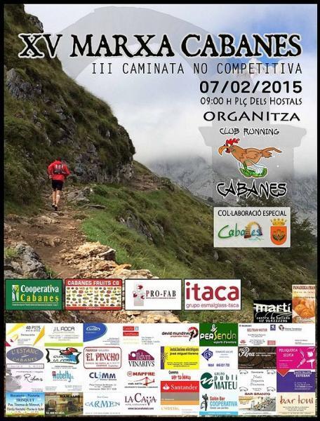 XV Marcha Cabanes 2015