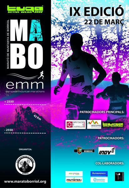 """IX Maratón de Montaña Borriol, """"MABO"""" 2015"""