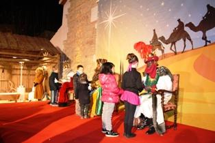 Cabalgata de Reyes en Ondara 2014