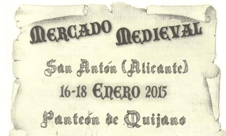 Mercado medieval San Antón 2015