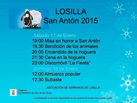 LOSILLA San Antón 2015- Aras de los Olmos