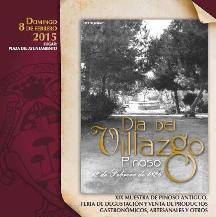 Programación día del Villazgo Pinoso 2015