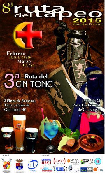 8ª Ruta de la Tapa y 3ª Ruta del Gin-Tónic