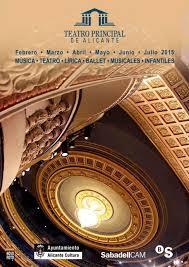 Programación Teatro Principal de Alicante 2015
