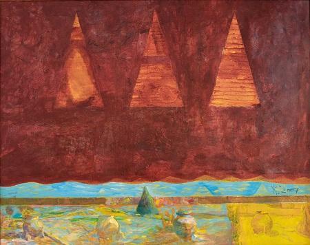 Exposición de pinturas de Krasen Berbenkov