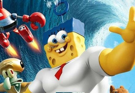 Cine: Bob esponja; un héroe fuera del agua