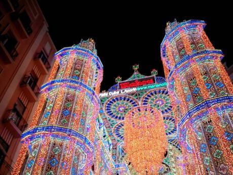 Calles Iluminadas - Fallas 2015