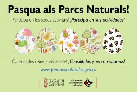 Pascua en los Parques Naturales de la Comunitat Valenciana