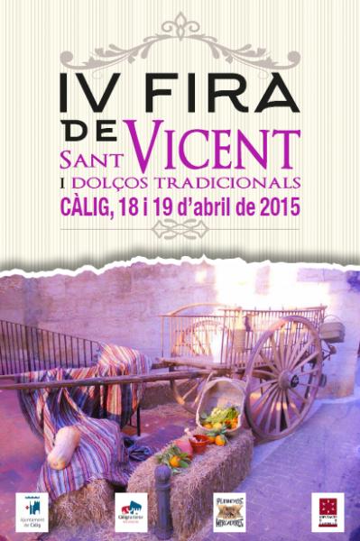 Feria de San Vicente y dulces tradicionales en Cálig