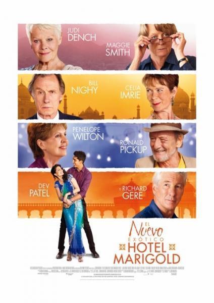 Cine: El Nuevo Exótico Hotel Marigold