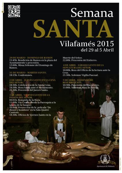 Semana Santa Vilafamés 2015.