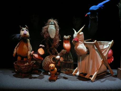 """Teatro Infantil: EL RETABLO """"El gato manchado y la golondrina Sinhá"""""""