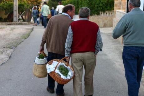 Rosemary pilgrimage in Xaló
