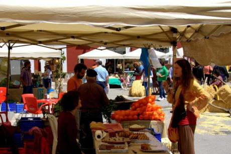 Ecological Market in Xaló