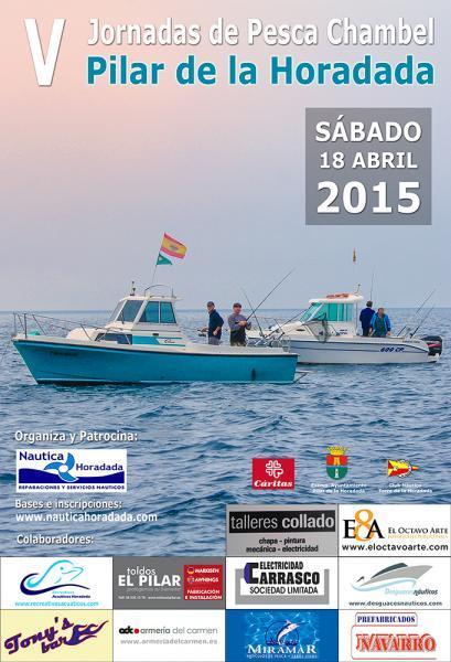 V Jornadas de Pesca Chambel Pilar de la Horadada
