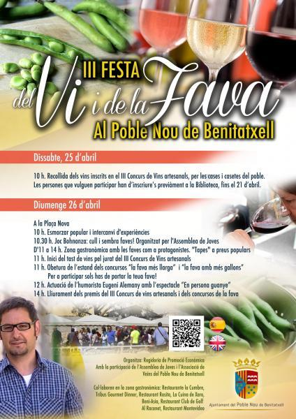 III Festival of Wine and Broad Beans