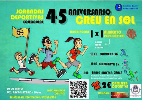 Jornada Deportiva, 45º Aniversario Juniors Creu en Sol. Manises 2015