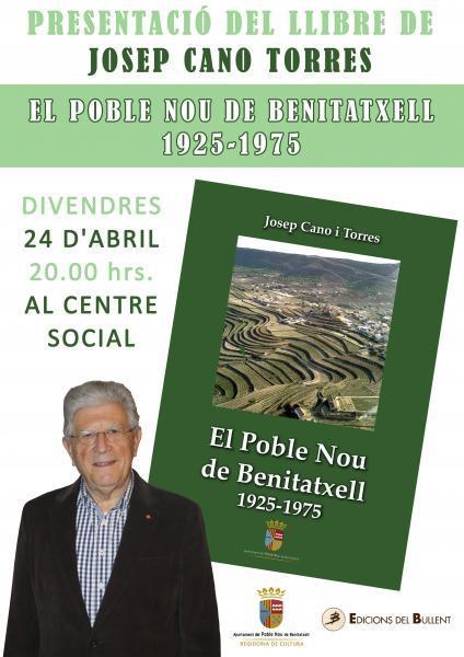 """Presentación del libro """"El Poble Nou de Benitatxell 1925-1975"""""""