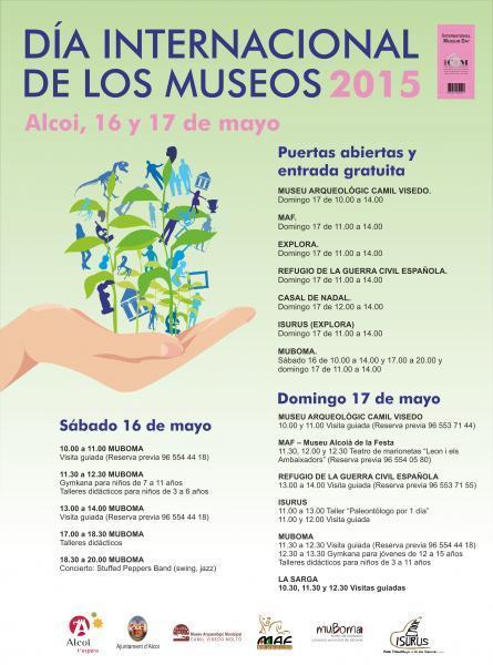 Día Internacional de los Museos Alcoy 2015