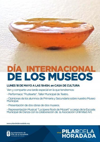 Acto Día Internacional de los Museos en Pilar de la Horadada