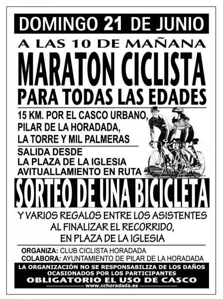 Maratón ciclista para todas las edades en Pilar de la Horadada
