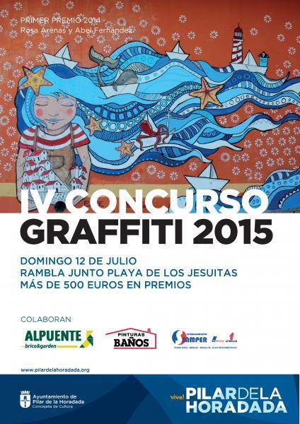 IV Concurso de Graffiti en Pilar de la Horadada 2015