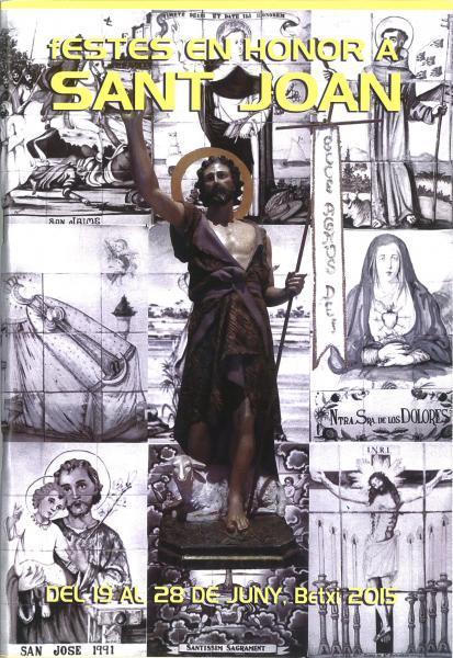 Fiestas en honor a San Juan en Betxí
