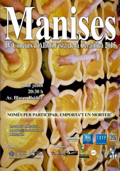"""IV Concurso Ajoceite """"Festa de la Ceràmica"""" Manises 2015"""