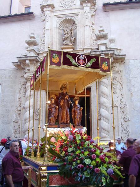 Fiestas de Sant Bernat en Alzira