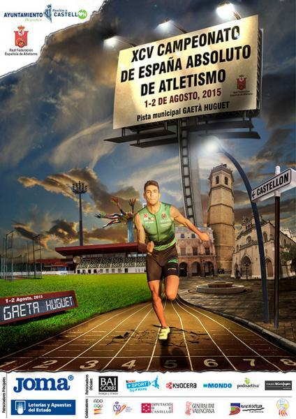 Campeonato de España absoluto de Atletismo en Castellón de la Plana