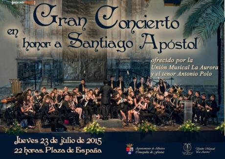 Gran Concierto en honor a Santiago Apóstol