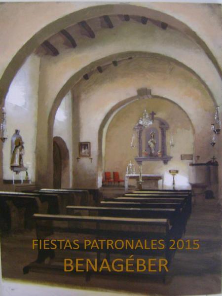 Fiestas Patronales BENAGÉBER 2015