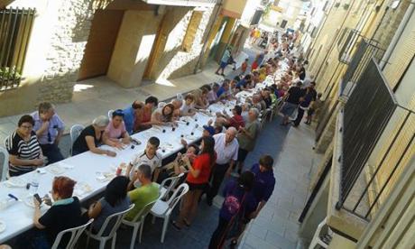 Fiestas mayores en Cinctorres. Programa