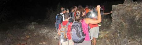 Night hike in Xaló