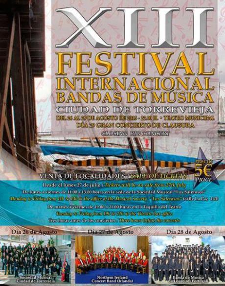XIII FESTIVAL INTERNACIONAL BANDAS DE MÚSICA