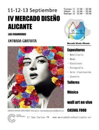 IV Mercado de Diseño Alicante 2015