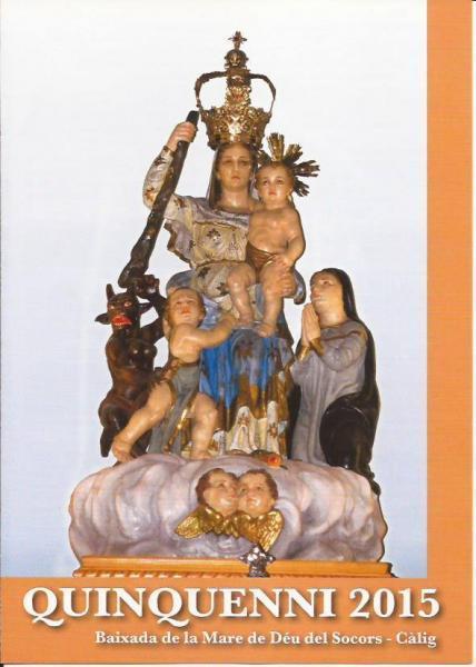 """Festividad de la """"Mare de Déu dels Socors"""" en Càlig"""