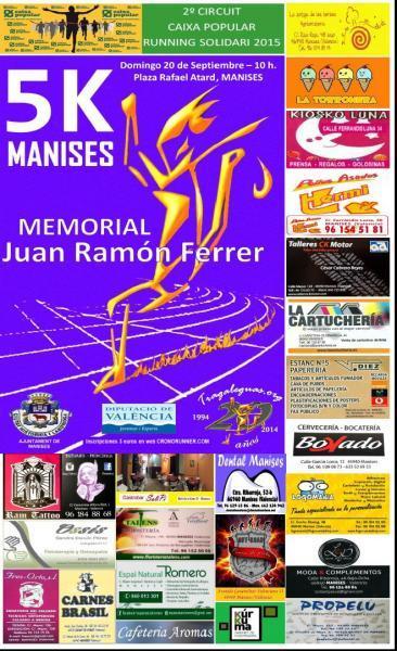 5K  Manises - III Memorial  Juan Ramón Ferrer