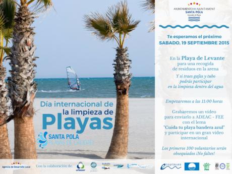 Día Internacional de la Limpieza de Playas - Santa Pola